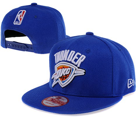 Oklahoma City Thunder NBA Snapback Hat SD2