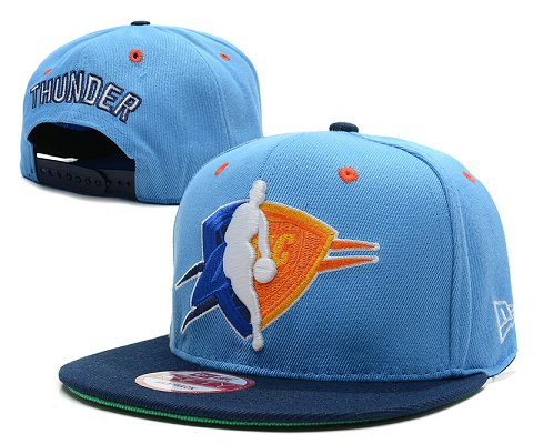 Oklahoma City Thunder NBA Snapback Hat SD3