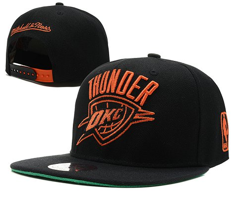 Oklahoma City Thunder NBA Snapback Hat SD4