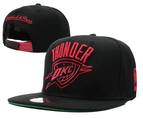 Oklahoma City Thunder NBA Snapback Hat SD5