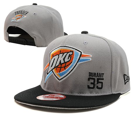 Oklahoma City Thunder NBA Snapback Hat SD6