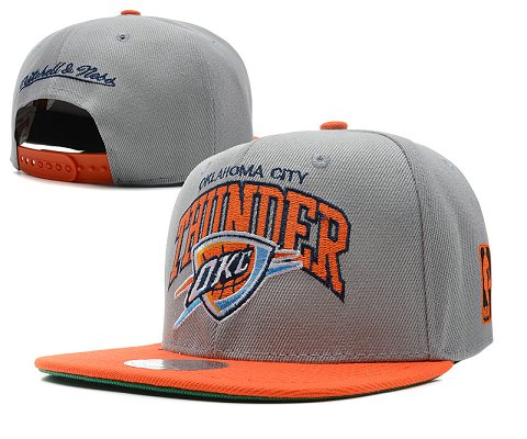 Oklahoma City Thunder NBA Snapback Hat SD7