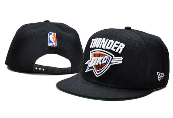 Oklahoma City Thunder NBA Snapback Hat TY033
