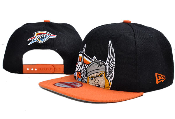 Oklahoma City Thunder NBA Snapback Hat TY040