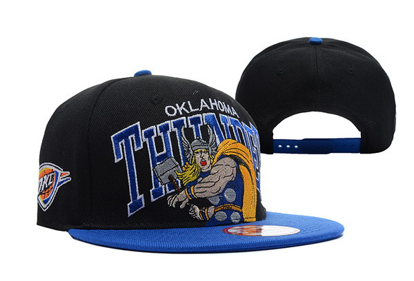 Oklahoma City Thunder NBA Snapback Hat TY122