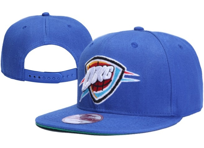 Oklahoma City Thunder NBA Snapback Hat XDF030
