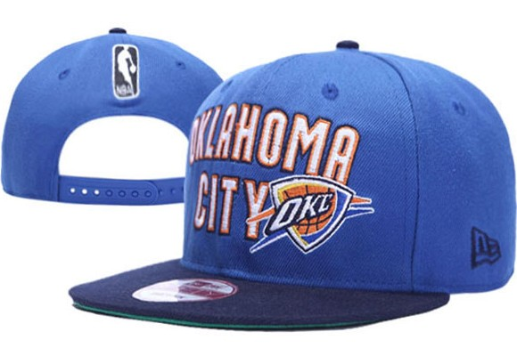 Oklahoma City Thunder NBA Snapback Hat XDF036