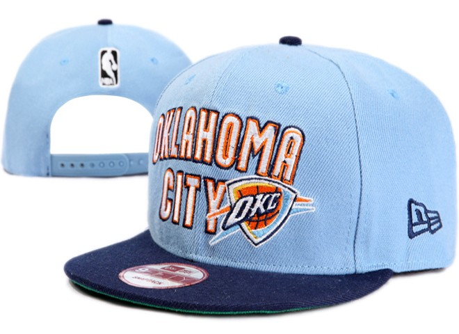 Oklahoma City Thunder NBA Snapback Hat XDF079