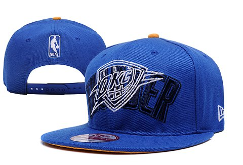 Oklahoma City Thunder NBA Snapback Hat XDF091