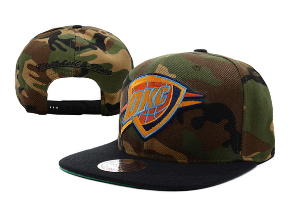 Oklahoma City Thunder NBA Snapback Hat XDF163