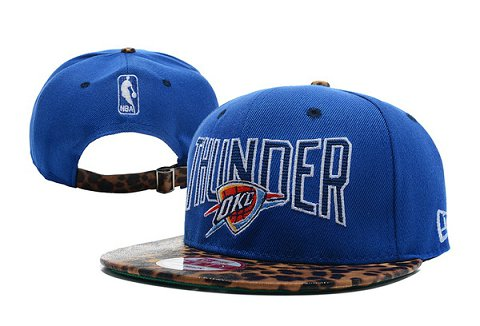 Oklahoma City Thunder NBA Snapback Hat XDF304