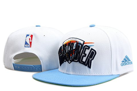 Oklahoma City Thunder NBA Snapback Hat YS093