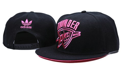 Oklahoma City Thunder NBA Snapback Hat YS106