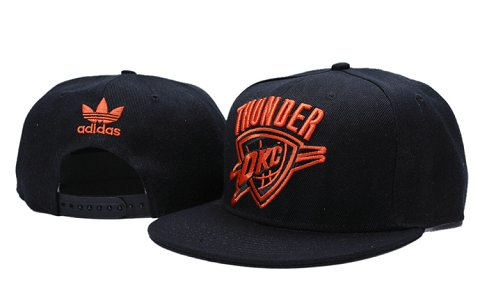 Oklahoma City Thunder NBA Snapback Hat YS107