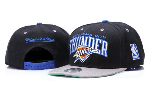 Oklahoma City Thunder NBA Snapback Hat YS147