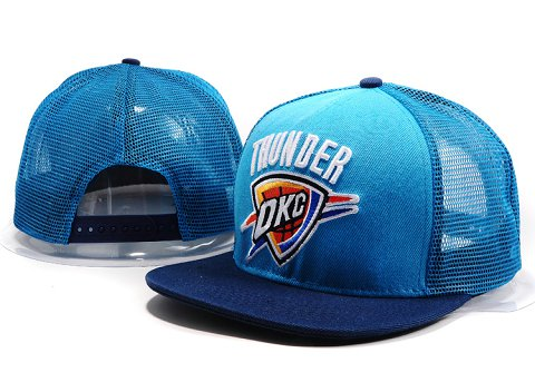 Oklahoma City Thunder NBA Snapback Hat YS174