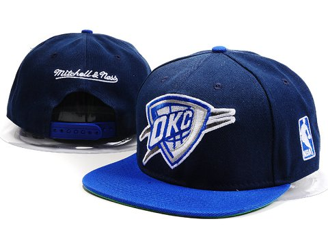 Oklahoma City Thunder NBA Snapback Hat YS176