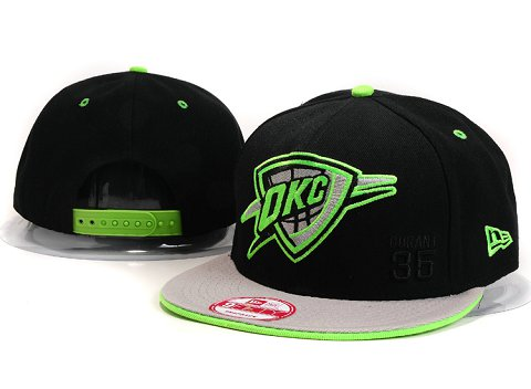 Oklahoma City Thunder NBA Snapback Hat YS202