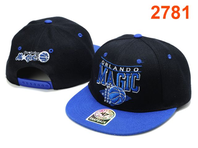 Orlando Magic 47 Brand Snapback Hat PT09