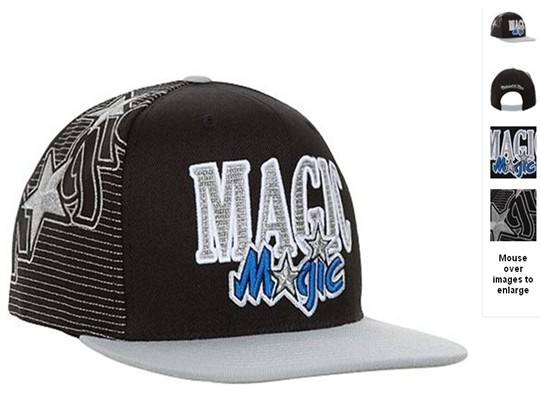 Orlando Magic NBA Snapback Hat 60D8