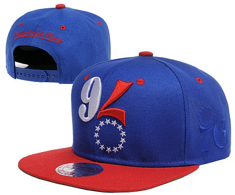 Philadelphia 76ers NBA Snapback Hat SD