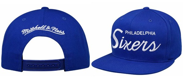 Philadelphia 76ers NBA Snapback Hat Sf1