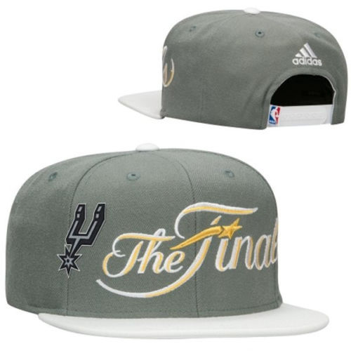 San Antonio Spurs Grey Snapback Hat SF 0606