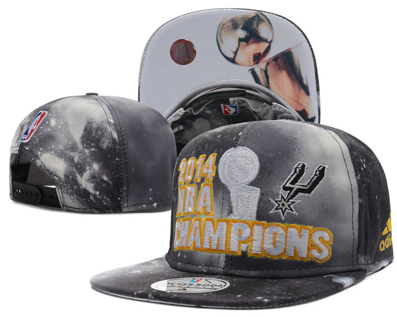 San Antonio Spurs 2014 NBA Finals Champions Snapback Hat SD 0701