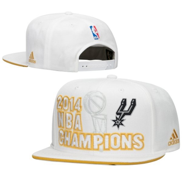 San Antonio Spurs adidas 2014 NBA Finals Champions Locker Room Snapback Hat XDF 0701