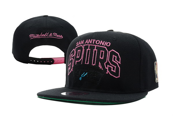 San Antonio Spurs Black Snapback Hat XDF