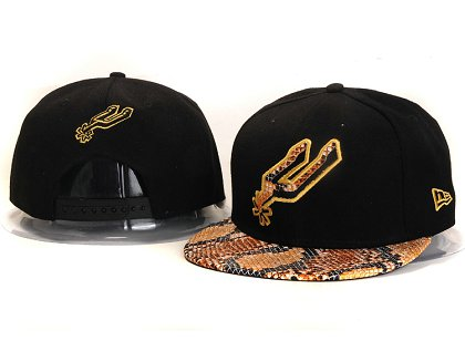 San Antonio Spurs New Snapback Hat YS E80