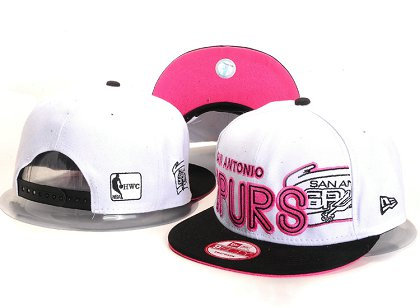 San Antonio Spurs New Type Snapback Hat YS U8708
