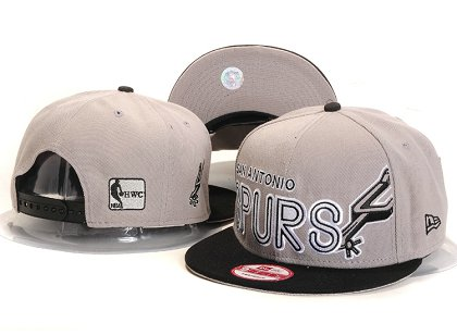 San Antonio Spurs New Type Snapback Hat YS U8709