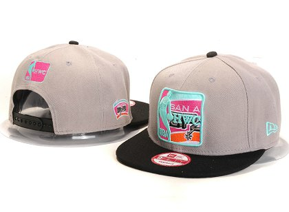 San Antonio Spurs New Type Snapback Hat YS U8713