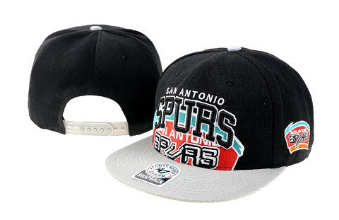 San Antonio Spurs NBA Snapback Hat 60D1