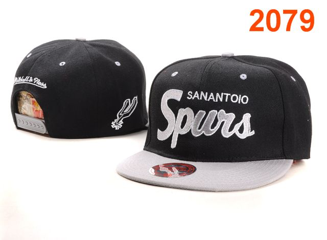 San Antonio Spurs NBA Snapback Hat PT055
