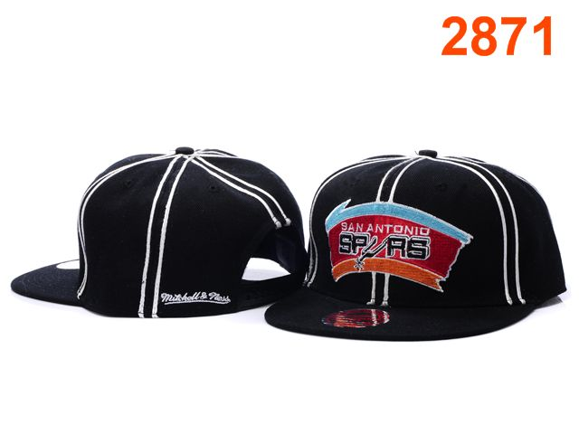 San Antonio Spurs NBA Snapback Hat PT114