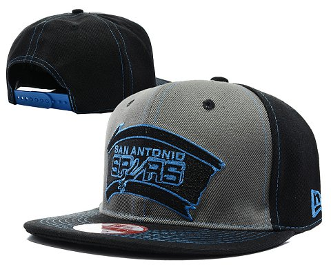 San Antonio Spurs NBA Snapback Hat SD03