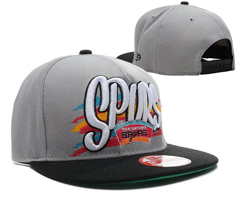 San Antonio Spurs NBA Snapback Hat SD04