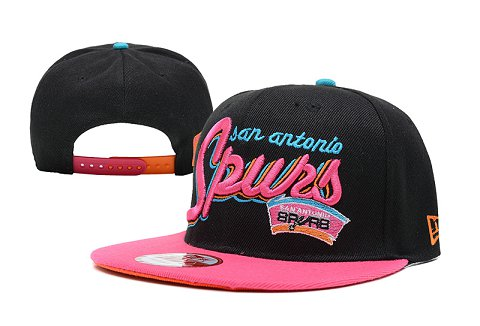 San Antonio Spurs NBA Snapback Hat SD05