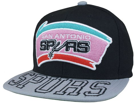 San Antonio Spurs NBA Snapback Hat SD08