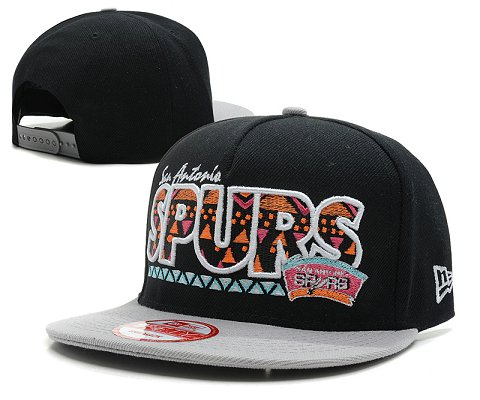 San Antonio Spurs NBA Snapback Hat SD09