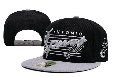 San Antonio Spurs NBA Snapback Hat XDF077