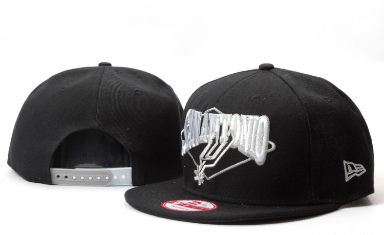 San Antonio Spurs NBA Snapback Hat YS124