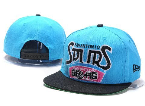 San Antonio Spurs NBA Snapback Hat YS163