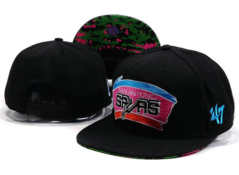 San Antonio Spurs NBA Snapback Hat YS175