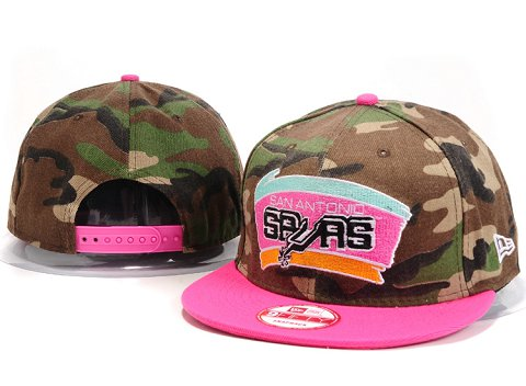 San Antonio Spurs NBA Snapback Hat YS191