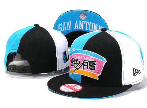 San Antonio Spurs NBA Snapback Hat YS225