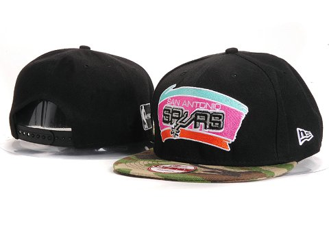 San Antonio Spurs NBA Snapback Hat YS261