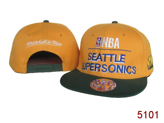 Seattle SpuerSonics Snapback Hat SG 3854